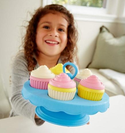 GreenToys cupcake set