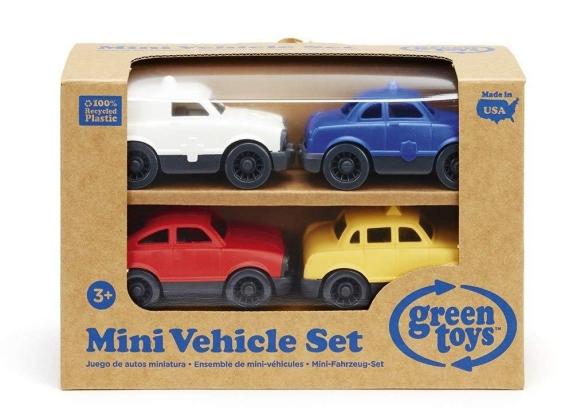 Green Toys mini vehicle set