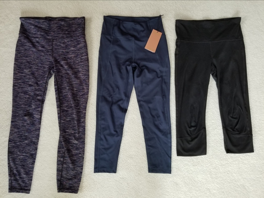Girlfriend Collective legging comparison