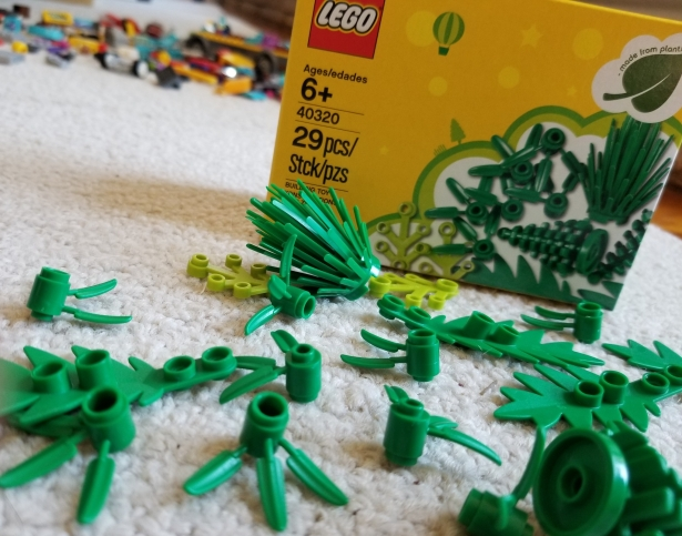 Lego plants from plants