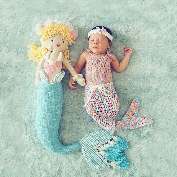 a74f15fd58a8 Pottery Barn mermaid doll. Photo Credit  Pottery Barn Kids ...